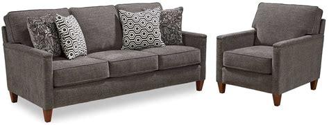 broyhill sofa fabrics broyhill furniture lawson gray fabric sofa 4254 3q