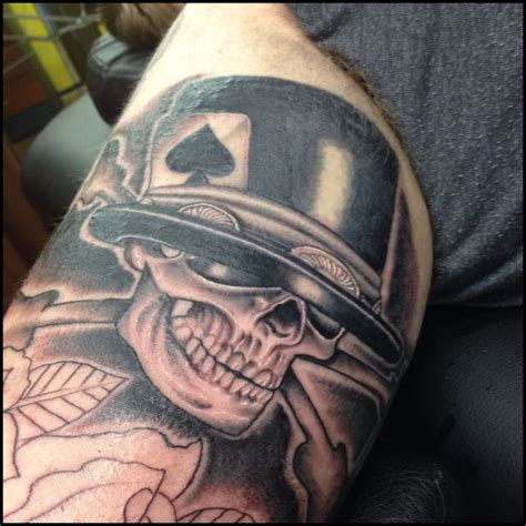 slash tattoos slash slash rnr skull stuff