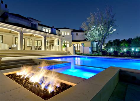 modern pool private swimming pools contemporary pool dallas by