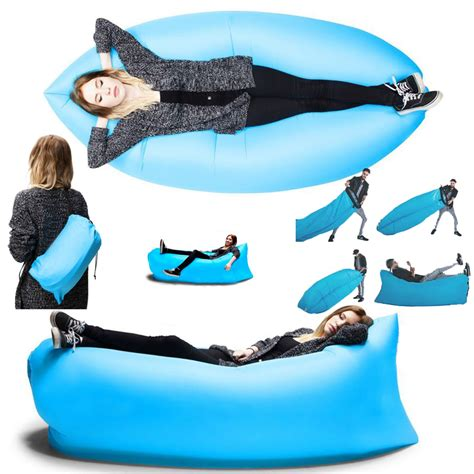 inflatable beach bed self inflatable beach sofa couch bed lazada singapore