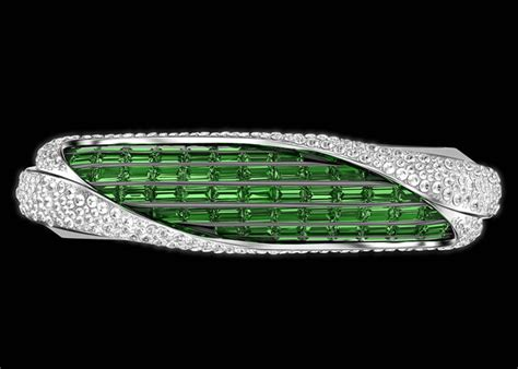 emerald green insane dissections savelli collaborates with gemfields for an emerald studded