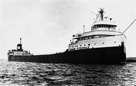 Largest Ship To Sink In The Great Lakes by Mystery Endures In Edmund Fitzgerald Sinking Minnesota