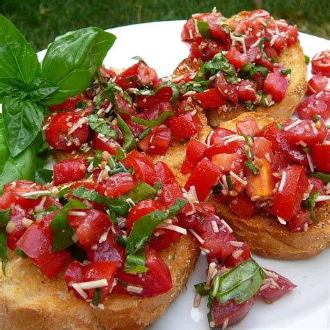make ahead appetizers for bridal shower recipes tomato and basil crostini recipe all recipes uk