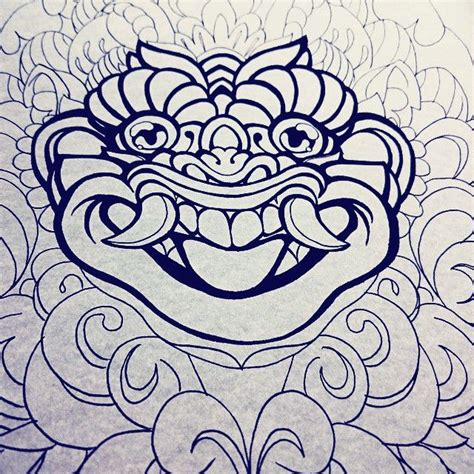 barong ket tattoo 108 best barong tattoo inspiration images on pinterest