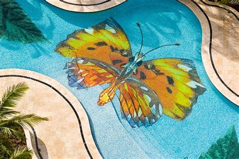 Lukisan Burung Custom swimming pool mosaic tile ideas intheswim pool