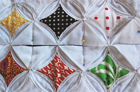 Cathedral Window Quilt Directions by Crafts Lessons Cathedral Window Quilt Tutorial Sewing