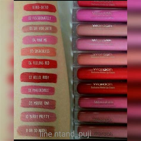 Harga Make Matte jual lipstik wardah eksklusif matte lip wap shop