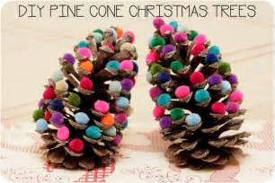 Pine cone christmas tree blog a la cart