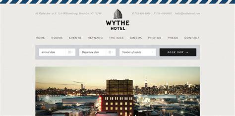 layout website yang baik cara desain 15 desain website hotel keren yang didesain