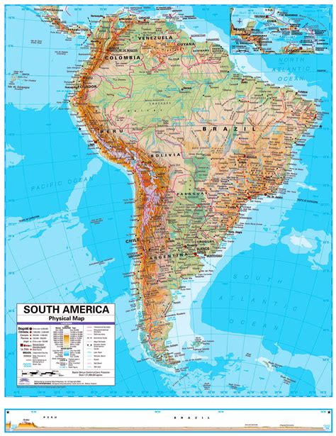and south america map in memographer travel photo journal