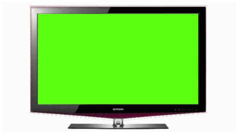 green tv green screen flat screen television hd 1080p greenscreen4u youtube
