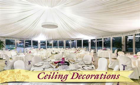 7 ideas on how to decorate a reception to make it