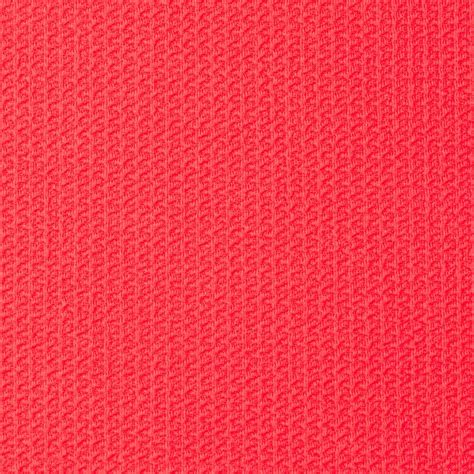 pink coral pique knit coral pink discount designer fabric