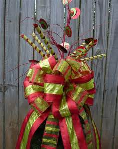 christmas tree topper large tree top bow and additional tree