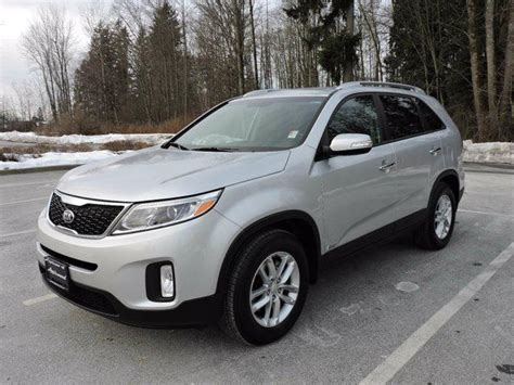 Kia Sorento Mpg 2014 Kia Sorento Lx V6 4dr All Wheel Drive Surrey