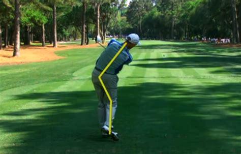 jim furyk golf swing jim furyk s swing analyzed by peter kostis californiagolf