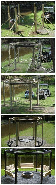 Swings on pinterest backyard swing sets swing sets and swings