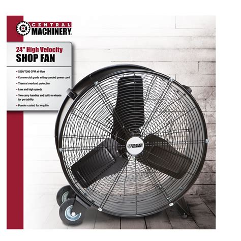 harbor freight industrial fans floor fan save on this 24 quot high velocity floor fan