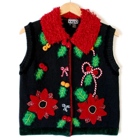 the vest with the chest is the best ugly christmas sweater vest the ugly sweater shop