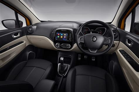 renault captur interior at night new renault captur nip and tuck time for french crossover