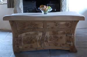 Handmade Kitchen Furniture Handmade Bespoke Kitchen Decoholic