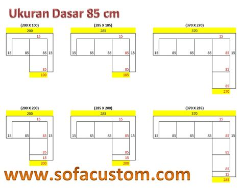 Sofa Yang Standar design ukuran sofa l buat sofa sesuai keinginan