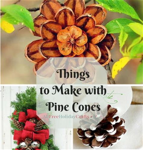 pine cone crafts 27 things to make with pine cones allfreeholidaycrafts com