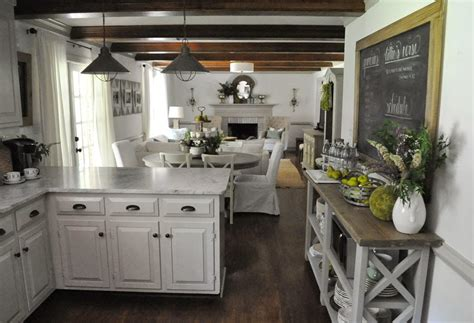 dear lillie our summer kitchen and family room