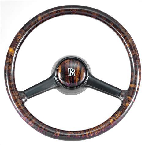 Rolls Royce Corniche Deluxe Walnut Steering Wheel Rolls