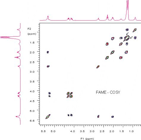 process nmr associates multidimensional 2d nmr fame