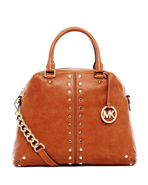 Michael Kors 19 michael kors uptown astor large satchel in brown lyst