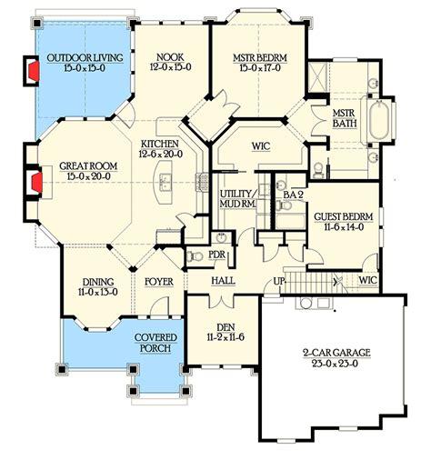 rambler floor plans with bonus room rambler in multiple versions 23384jd 1st floor master