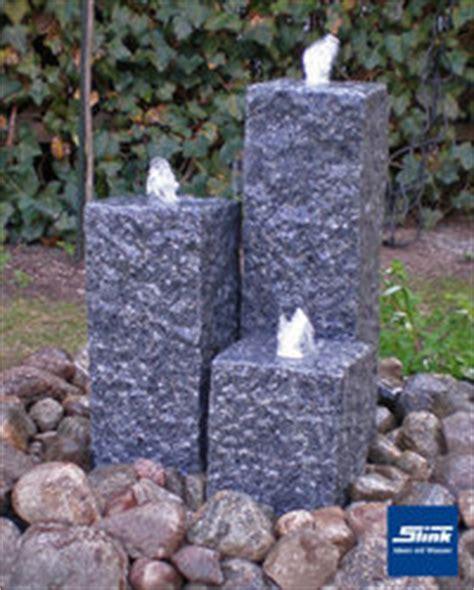 bachlauf mit wasserfall 1103 steinbrunnen granitbrunnen natursteinbrunnen