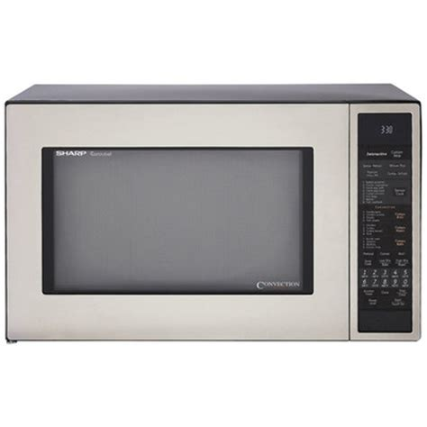 Countertop Convection Microwave Reviews by Sharp 1 5 Cu Ft 900w Countertop Convection Microwave