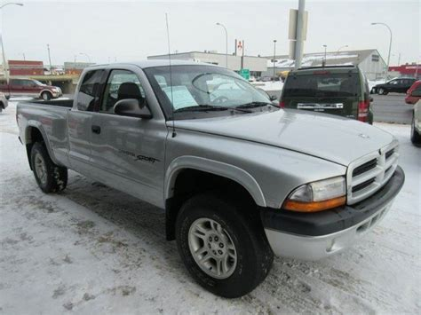 dodge dakota edmonton 2001 dodge dakota sport 4x4 club cab 131 in wb edmonton