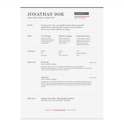 21 best well designed resumes images on creative curriculum and cv exles