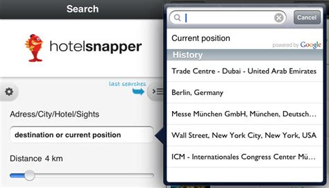 Locator Address Search Free Free Hotel App For Iphone Android Blackberry