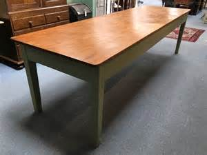 large kitchen table large 10ft pine kitchen table antiques atlas