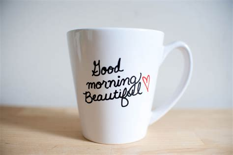 Beautiful Mugs by Good Morning Beautiful Mug By Lovetoastshop On Etsy