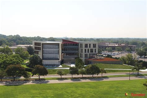Mba Kansas City by Ku School Of Business Curtain Wall Engineering Jei