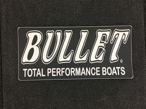 bullet boats carpet bullet carpet decal non skid graphic