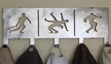 wall mounted baseball hat rack images