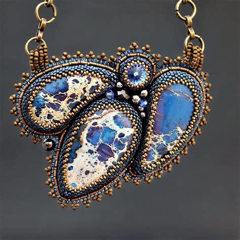 seed bead embroidery jewelry jewelry
