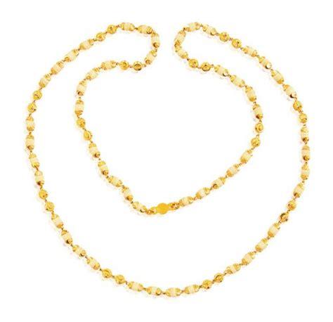gold mala pattern 22k gold tulsi beads mala ajch60943 22k gold religious