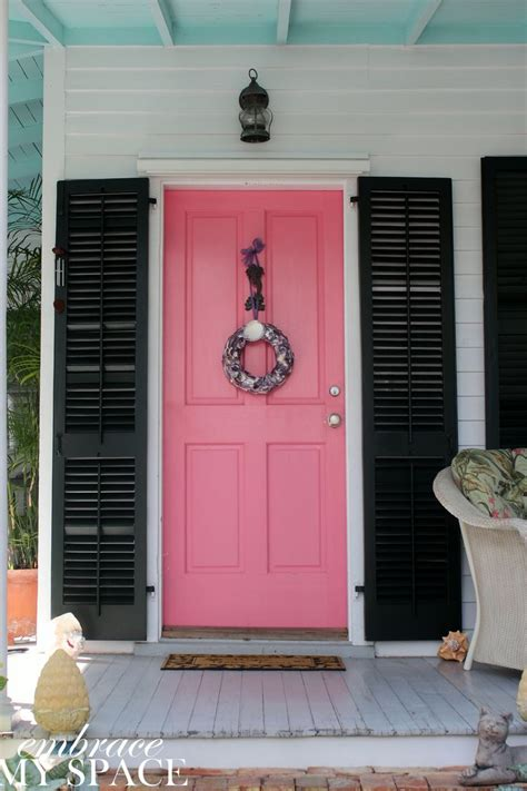 Pink Front Door Paint 40 Best Images About Doors On Woodlawn Blue Modern Farmhouse And Blue Doors