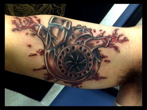 turbo tattoo 11 turbo tattoos that car guys will fall in love with