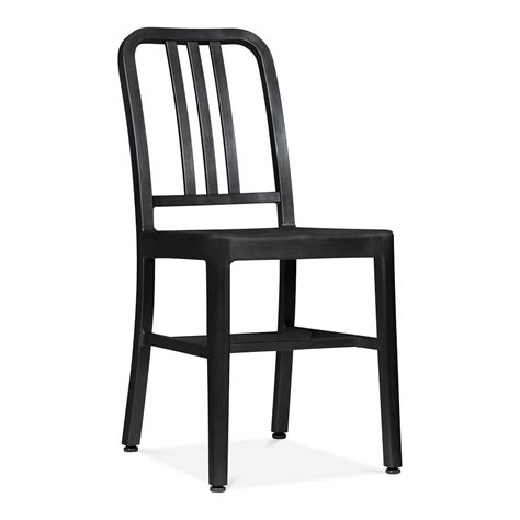 Metal Dining Chair Matte Black Restaurant Chairs Cult Uk Black Metal Dining Room Chairs