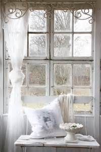 shabby chic lace curtain for the home pinterest
