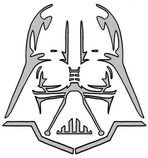 darth vader helmet template darth vader stencil i will use this all the time