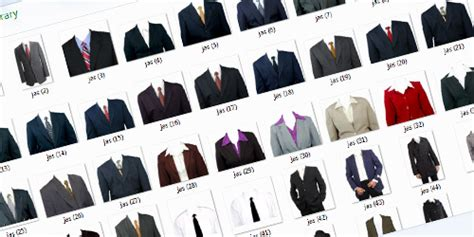 Software Pembuka Baju Pada Foto template gambar pakaian baju jas psddesain net